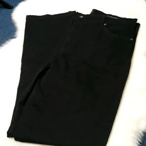 Gloria Vanderbilt black jeans womens size 14p